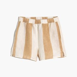 Madewell x LAUDE the Label Everyday Shorts in Tulum Stripe   Madewell