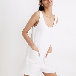 MWL Superbrushed Pull-On Romper   Madewell