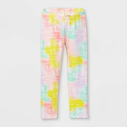 Toddler Girls' Tie-Dye Leggings - Cat & Jack™ | Target