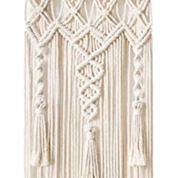 Mkono Macrame Woven Wall Hanging Boho Home Chic Bohemian Geometric Art Decor - Beautiful Apartmen... | Amazon (US)