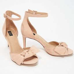 G.I.L.I. Bow Front Sandals - Lucille   QVC