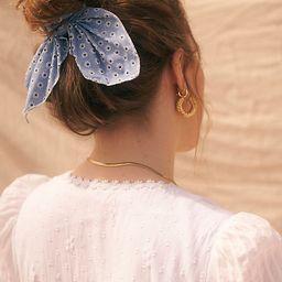 Rosie Printed Scrunchie | Free People (US)