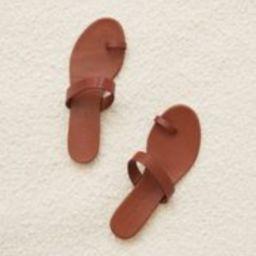 Leather Strap Sandal - Saddle | Jenni Kayne | Jenni Kayne