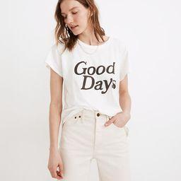Good Days Graphic Softfade Cotton Tee   Madewell
