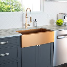 CS-H-LARG3621R1 36 Inch Farmhouse Kitchen Sink Apron Front 16 Gauge Stainless Steel Deep Single B...   Wayfair North America