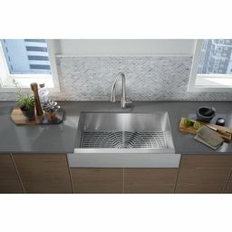 20243-PC-NA Ludington Apron Front Kitchen Sink with Accessories | Wayfair North America