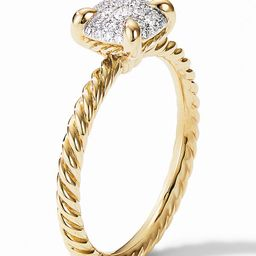 Chatelaine® Ring in 18K Gold with Pavé Diamonds | Nordstrom