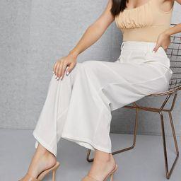 Vegan Leather Open-Toe Slip-On Stiletto Heels | SHEIN USA | SHEIN