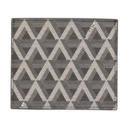 Ikon Coated Canvas And Leather Card Holder   TJ Maxx
