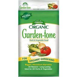 Espoma 27 lb. Organic Garden Tone Herb and Vegetable Fertilizer-100520770 - The Home Depot | The Home Depot