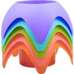 Beach Vacation Accessories, AOMAIS Beach Sand Coasters Drink Cup Holders(MultiColor, 5 Pack)   Amazon (US)