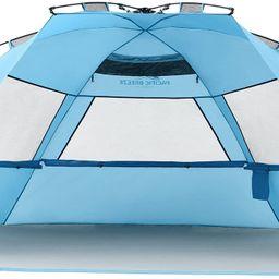 Pacific Breeze Easy Setup Beach Tent Deluxe XL   Amazon (US)