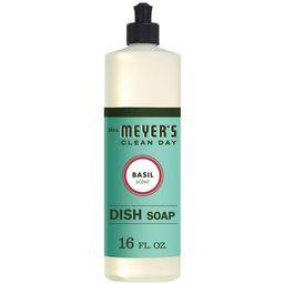 Mrs. Meyer's Clean Day Basil Scent Liquid Dish Soap - 16oz | Target