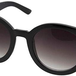 grinderPUNCH Women's Designer Inspired Oversized Round Circle Sunglasses Mod Fashion   Amazon (US)