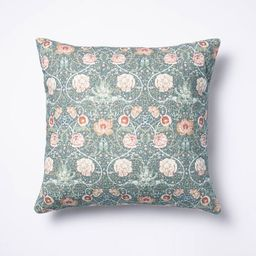Floral Printed Throw Pillow - Threshold™ designed with Studio McGee   Target