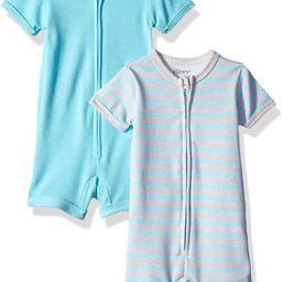 Hanes Ultimate Baby Zippin 2 Pack Rompers   Amazon (US)