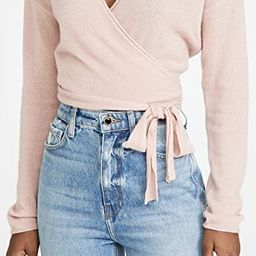 Relaxed Cashmere Wrap Sweater | Shopbop