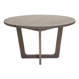 Round Dining Table in Gray and Oak   Walmart (US)