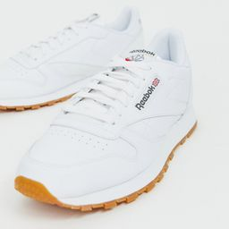 Reebok Classic leather sneakers in white 49799 | ASOS (Global)