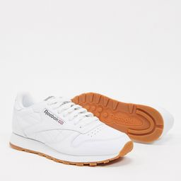 Reebok Classic leather sneakers in white 49797 | ASOS (Global)