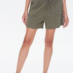 Cropped Cami & French Terry Shorts Set | Forever 21 (US)