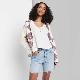 Women's High-Rise Bermuda Jean Shorts - Wild Fable™ | Target