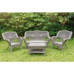 Narron 4 Piece Rattan Sofa Seating Group   Wayfair North America