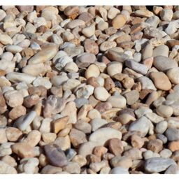 Butler Arts 1/2 in. to 1-1/2 in. Sand Dollar Landscaping Pebble (2200 lb. Super Sack)   The Home Depot