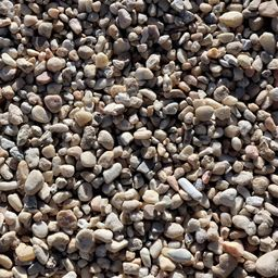 Butler Arts 0.50 cu. ft. 40 lbs. 3/8 in. Sand Dollar Landscaping Pebble   The Home Depot