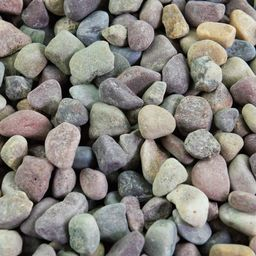 Southwest Boulder & Stone 25 cu. ft. 3/8 in. Patagonia Bulk Landscape Rock and Pebble for Gardening,   The Home Depot