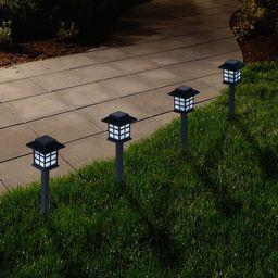 Outdoor Lantern Solar Landscaping Lights - Set of 6 by Pure Garden   Walmart (US)