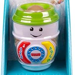 Fisher-Price GHJ04 Laugh & Learn On-The-Glow Coffee Cup, Interactive Baby Toy, Multicolour   Amazon (US)