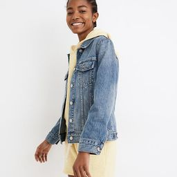 The Jean Jacket in Medford Wash   Madewell