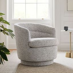 Viv Swivel Chair   West Elm (US)