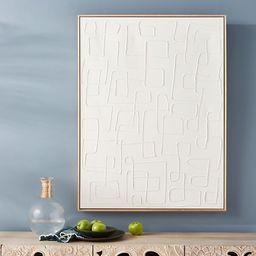 White Maze Wall Art | Anthropologie (US)
