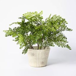 """18"""" x 15"""" Artificial Fern Plant in Pot - Threshold™ designed with Studio McGee   Target"""