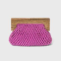 Women's Crochet Coin Purse - A New Day™   Target