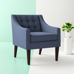 Clopton 26'' Wide Tufted Polyester Armchair | Wayfair Professional