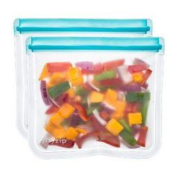 (re)zip Leak-Proof Lay Flat Aqua Lunch Bag - 2pk   Target