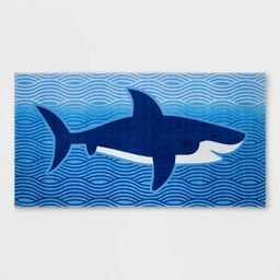 Big Shark Prints Blue - Sun Squad™   Target