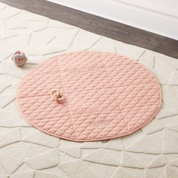 Fold and Go Navy Portable Baby Mat + Reviews | Crate and Barrel | Crate & Barrel