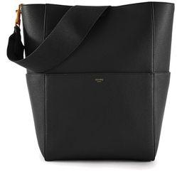 Sangle Bucket Bag in Grained Calfskin | 24S