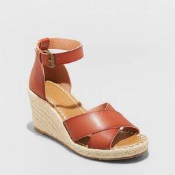 Women's Ellie Espadrille Wedge Heels - Universal Thread™ | Target
