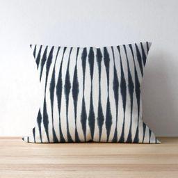 Blue Stripe Outdoor Pillow Cover - Outdoor Decor - Patio Decor - Outdoor Seating - Premier Prints... | Etsy (US)