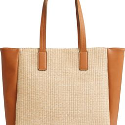Belle Woven Straw Tote   Nordstrom