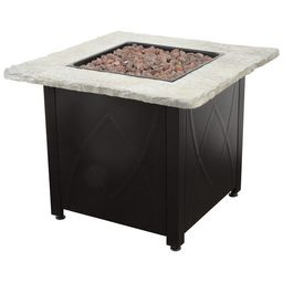 Dray 24'' H x 30'' W Stainless Steel Propane Outdoor Fire Pit Table | Wayfair Professional