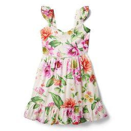 Dahlia Ruffle Strap Dress | Janie and Jack