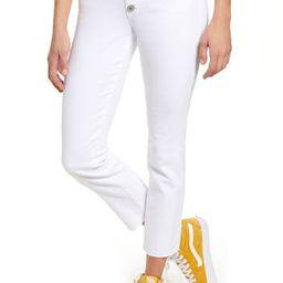 High Waist Ankle Straight Leg Jeans   Nordstrom Rack
