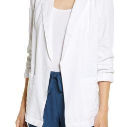 Linen Blend Jacket | Nordstrom