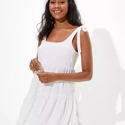 AE Solid Tie-Strap Babydoll Dress   American Eagle Outfitters (US & CA)